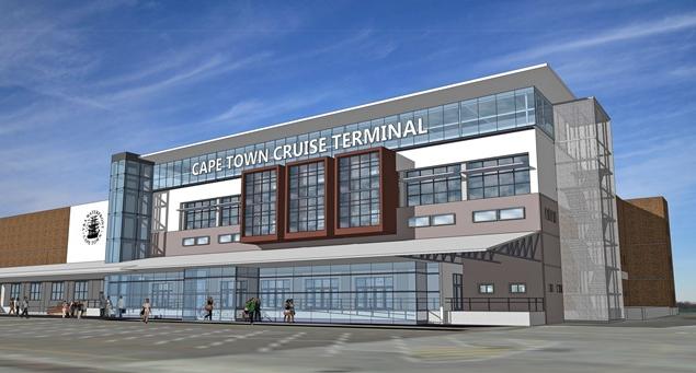 VA - Cruise Liner Terminal - 2016-11 - artist's impression