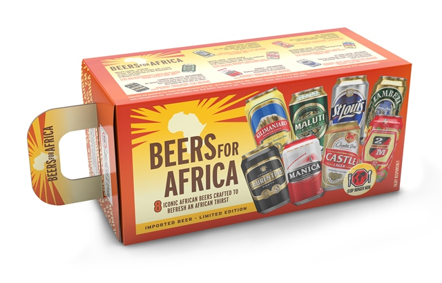 SAB - A Taste of Africa - carry pack