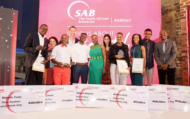 SAB KickStart Ignite - Winners, Class of 2016