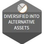 AF - diversified into alternative assets icon