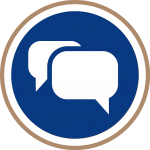 Corporate Image consumer communications icon