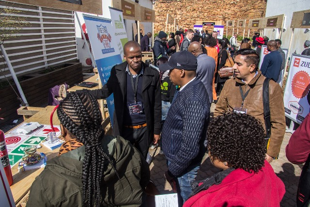 SAB KickStart Alumni showcased their products and services at the first SAB KickStart Buyers' Market held at Constitution Hill.