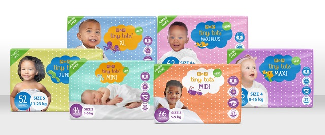 Pick n Pay Tiny Tots diapers