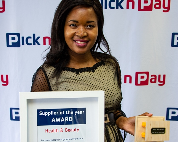 PnP-Supplier of the year award